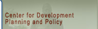 CDPP - Centre for Developement Planning and Policy