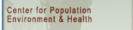 CPEH - Centre for Population, Environment and Health
